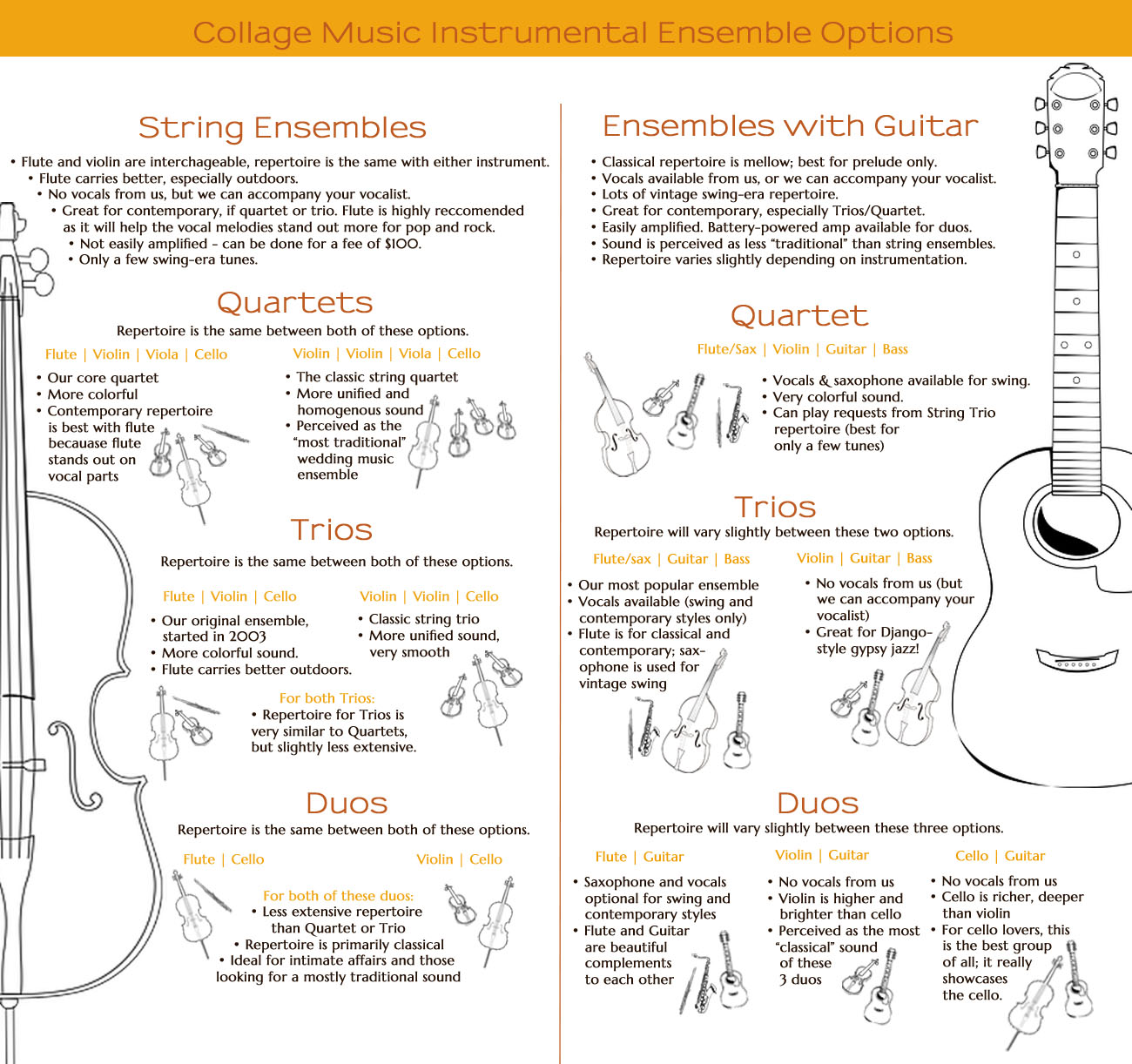 Instrumental Options Infographic
